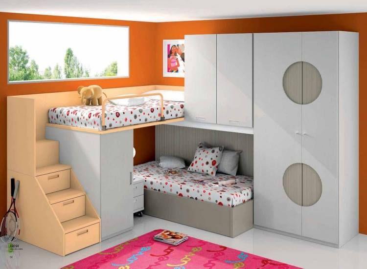 Optimiza tu habitaci n con decoraciones modernas y - Literas juveniles modernas ...