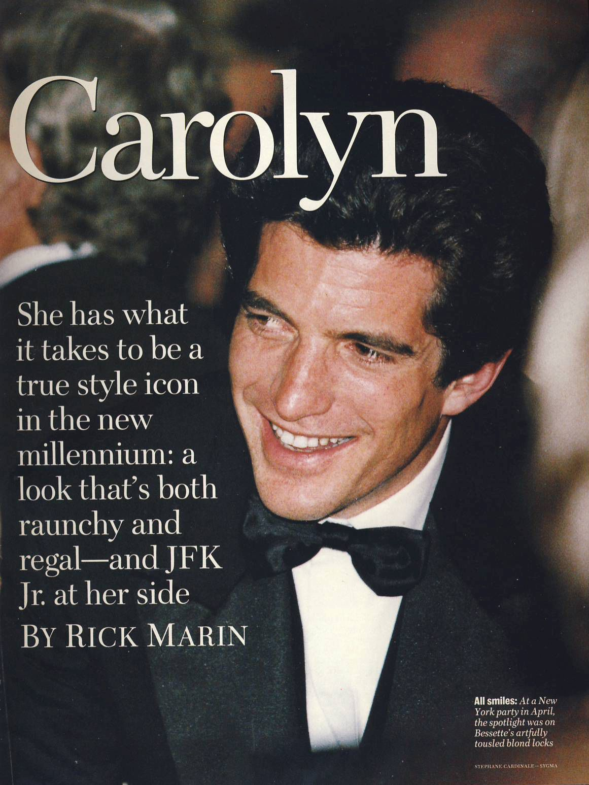 Dedicated To The Late Carolyn Bessette Kennedy 1966 1999
