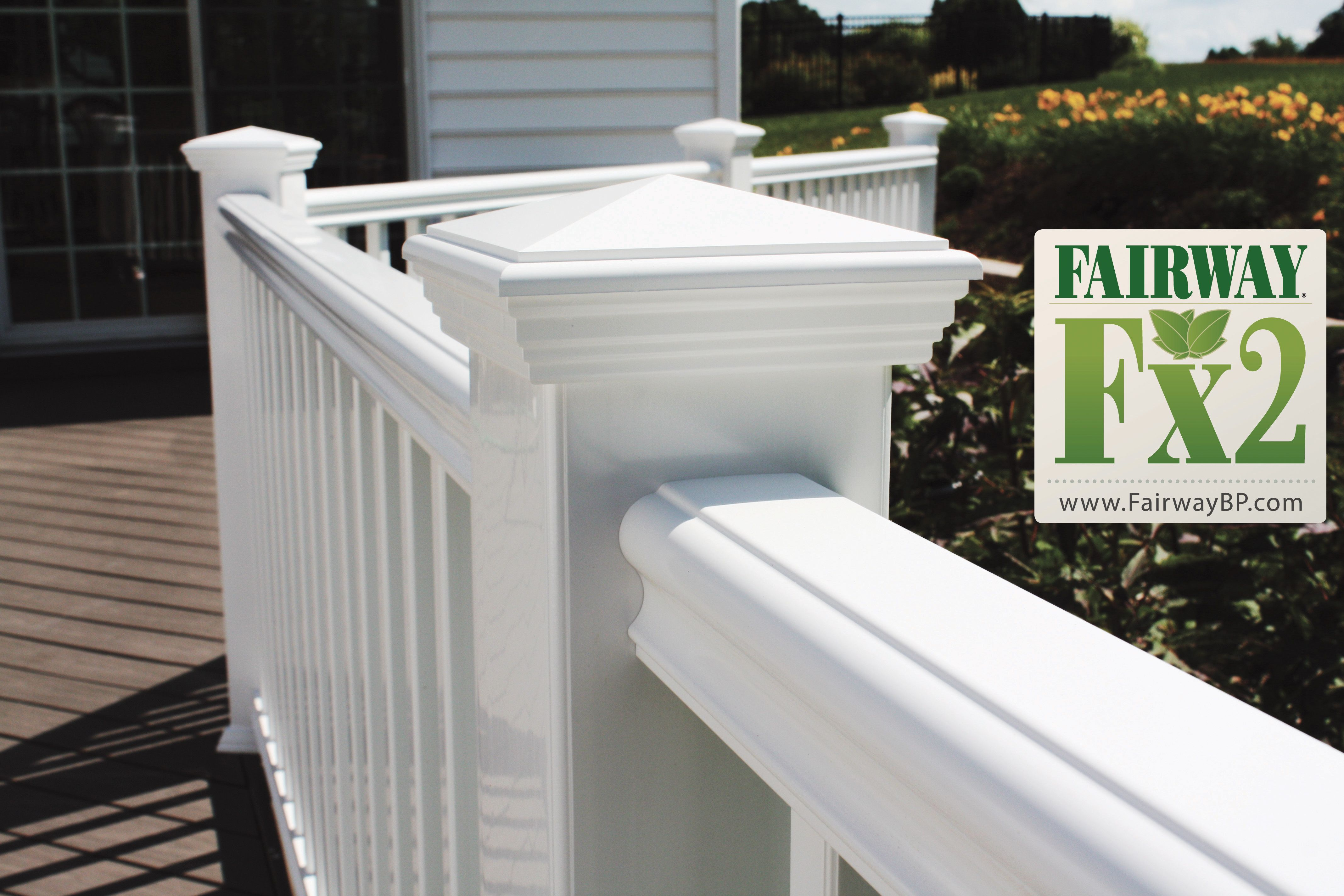Porch and Deck Railing Vinyl • Composite • Aluminum Railing Systems ...
