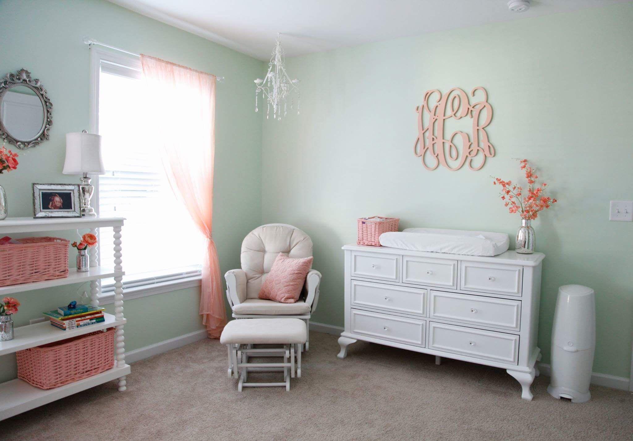 Best Baby Girl Nursery Ideas Floral Nursery Inspiration 400 x 300