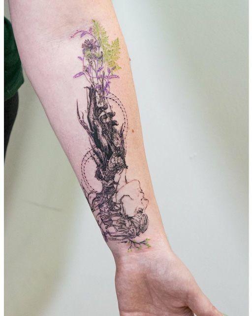 Tattoos, Forarm Tattoos E