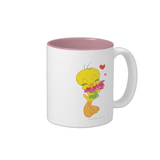 TWEETY™ Valentine Hearts Two Tone Coffee Mug