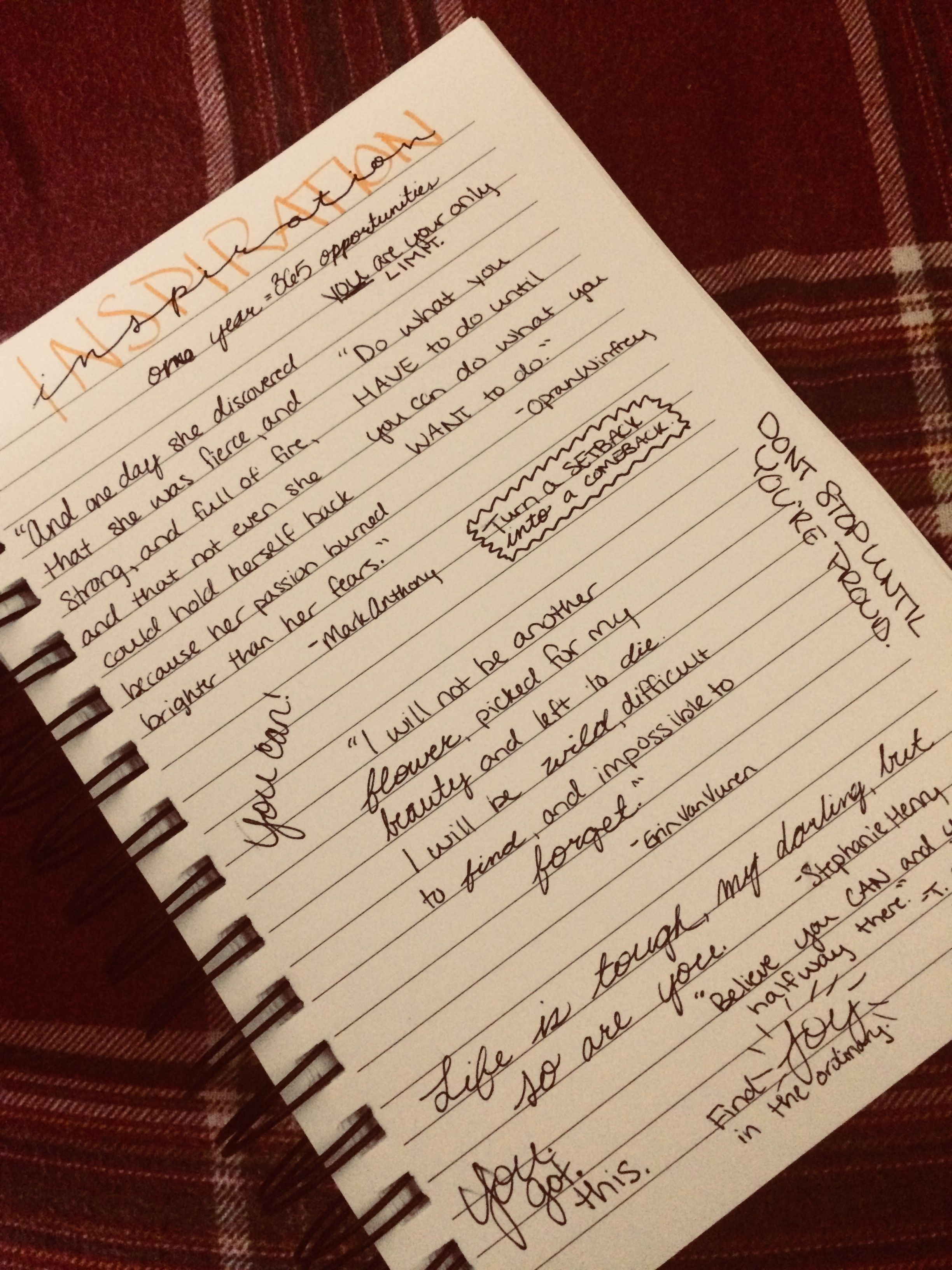 Inspiration Quotes Journaling Inspirationalquotes