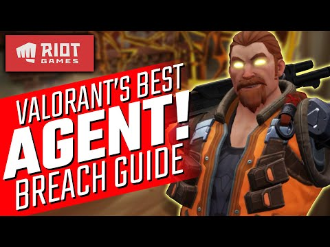 The Best Agent In Valorant Breach Guide Youtube In 2020 Guide Good Things Best