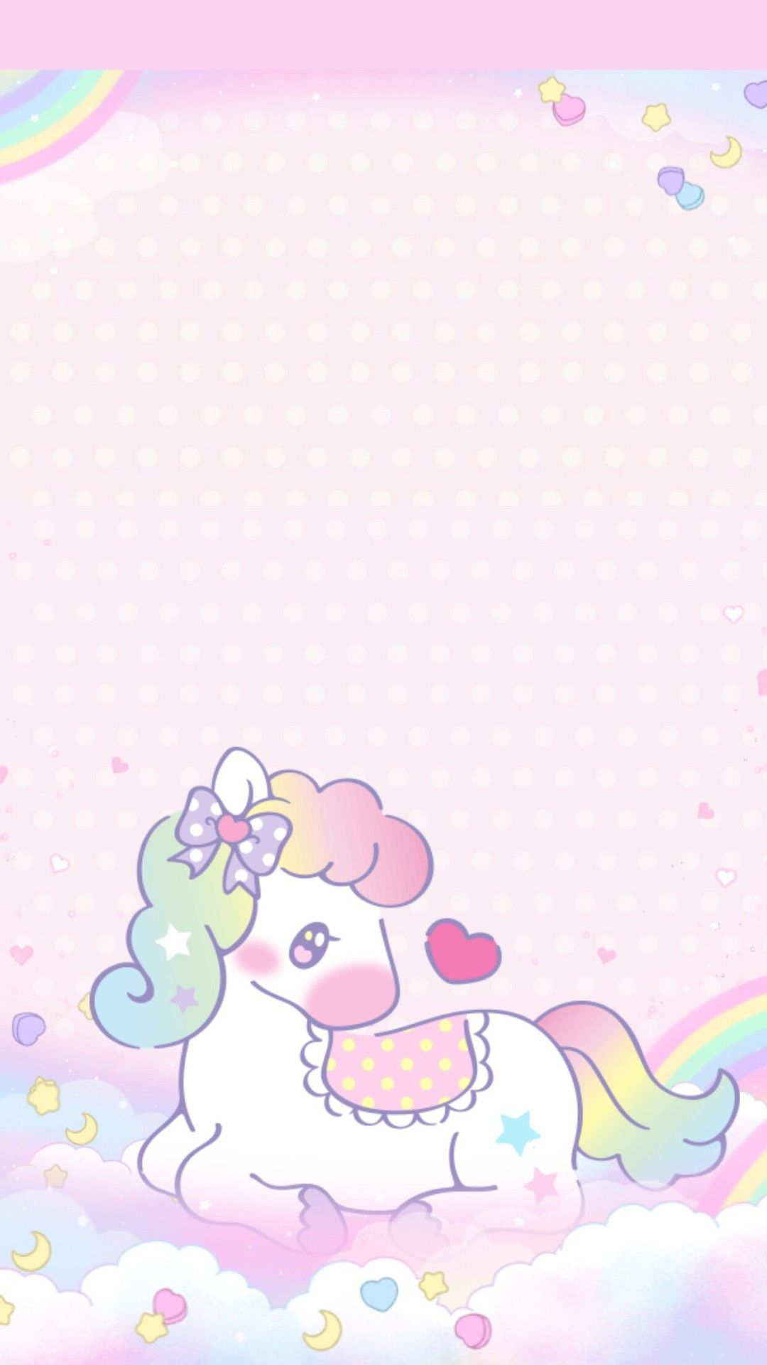 Cute pink unicorn wallpaper images