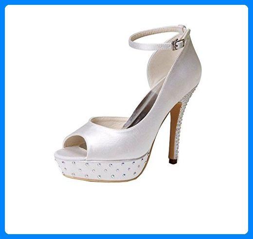big sale cec46 836a9 Kevin Fashion , Damen Modische Hochzeitsschuhe , Beige ...