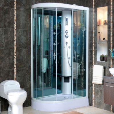 Columna ducha cabinas de ducha y cabina for Llaves para duchas sodimac