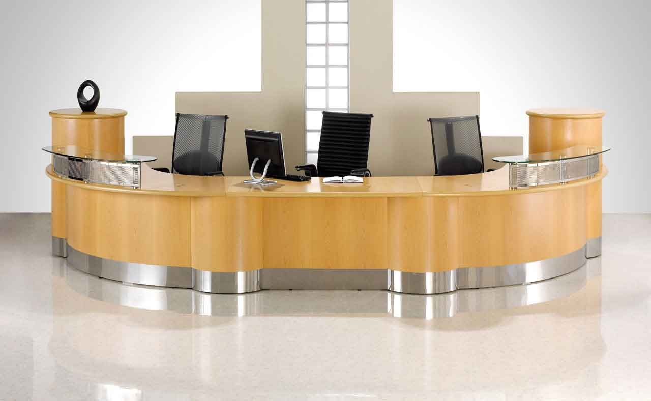 stylish office tables. Reception Desk Furniture And Accessories Stylish Office Tables N