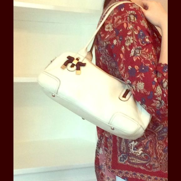 Gucci bowling speedy bag white leather Auth! Comes with dust bag. Message  me if ea1899806c