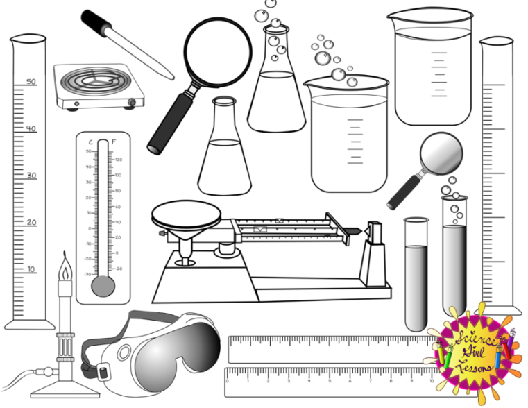 Image Result For Science Tools Coloring Pages Science Tools Coloring Pages Science