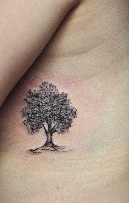 Photo of Small Oak Tree Tattoo 49 Ideas