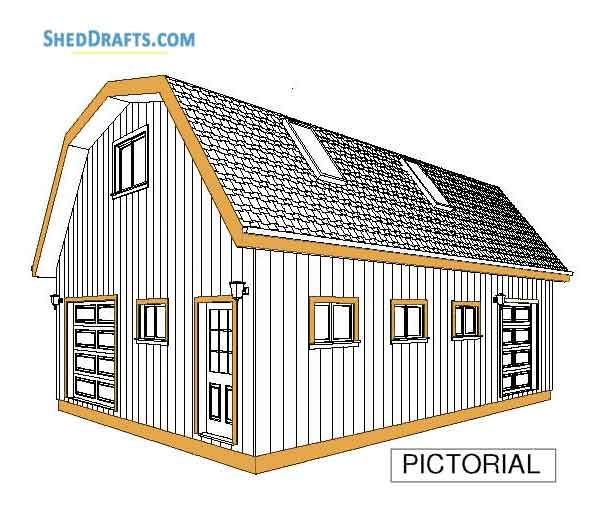 It Is Necessary To Compact The Scalpings Before Adding The Concrete So That They Are As Tightly Packed As Possible Gambrel Barn Barns Sheds Shed Plans