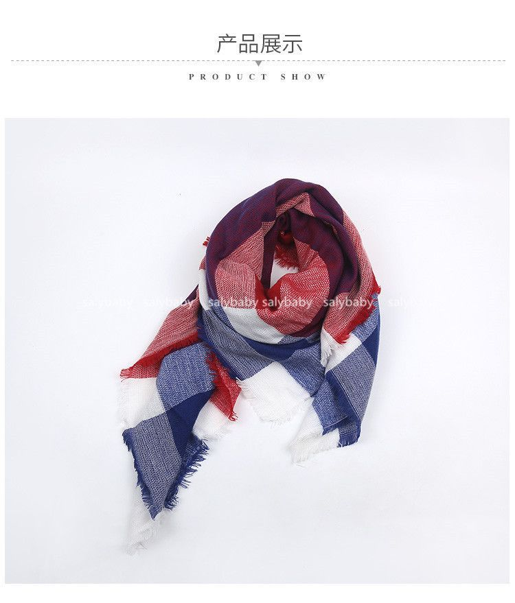 New Design Women's Fashion Scarf Top quality Blankets Soft Cashmere