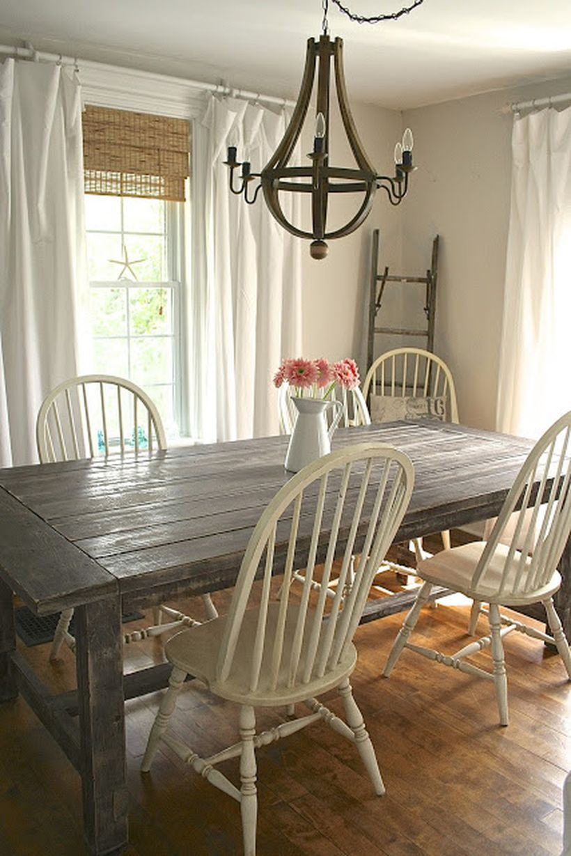 Marvelous Farmhouse Style Living Room Design Ideas 67 Farmhouse Dining Rooms Decor Farmhouse Dining Room Table Dining Room Makeover