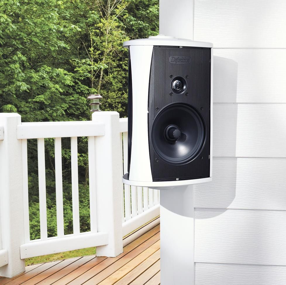 Crutchfield A/V designer Tony gives preparation tips for three types of  outdoor sound systems. - Outdoor Speakers System Planning Guide Outdoors Outdoor Speakers