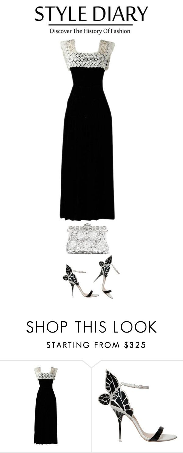 """Untitled #2358"" by tina-teena ❤ liked on Polyvore featuring Sophia Webster and Dolce&Gabbana"