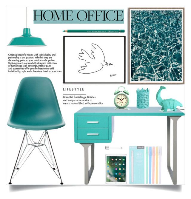Work Hard Home Office by samrabv liked on Polyvore featuring