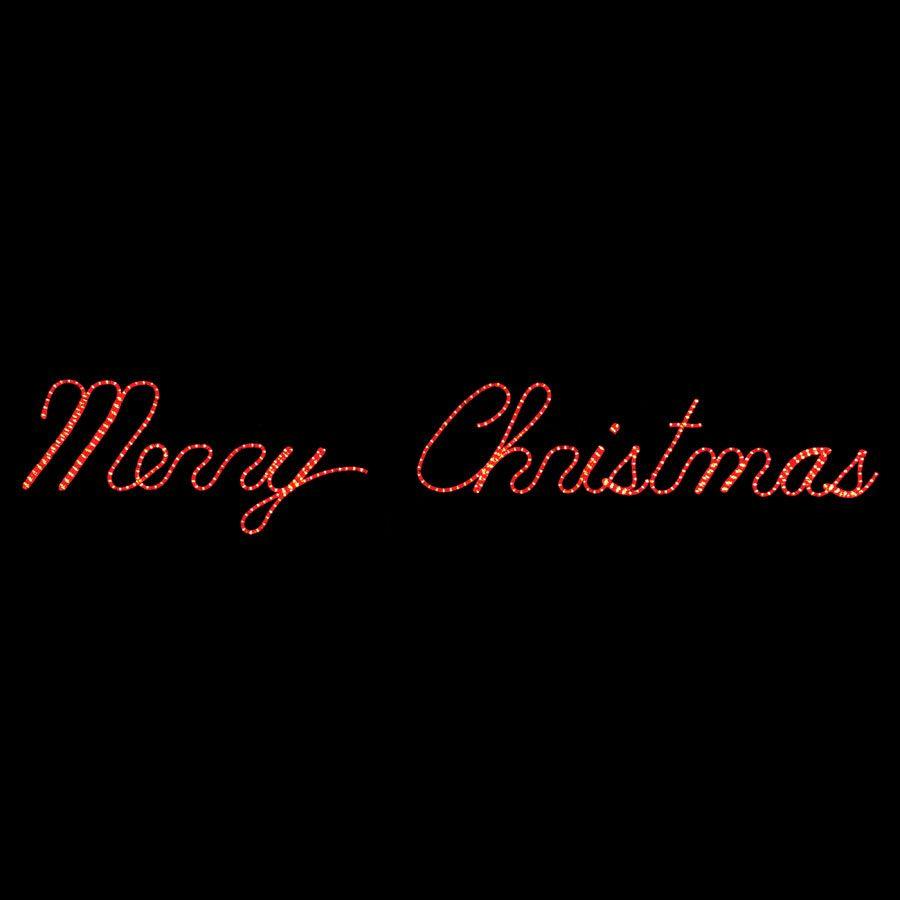 Merry Christmas Led Display Christmas Rope Lights Outdoor Christmas Lights Christmas Words