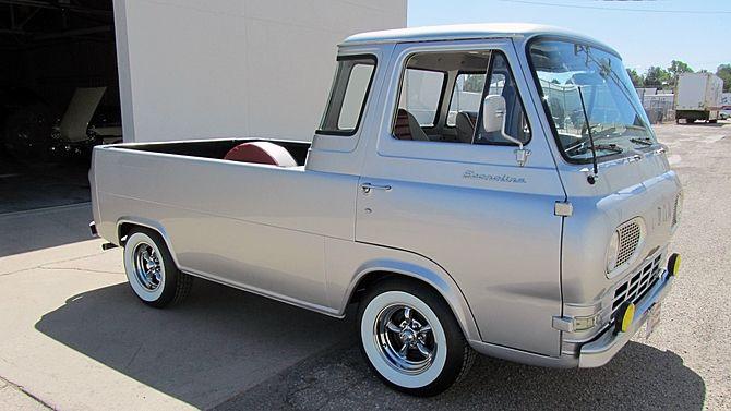 1961 Ford Econoline Pickup 3 Speed Cab Corner Windows Presented