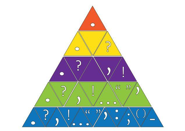 Teacher S Pet Punctuation Puzzle Pyramid Free Clroom Display Resource Eyfs Ks1 Ks2 Vcop Ros Wilson