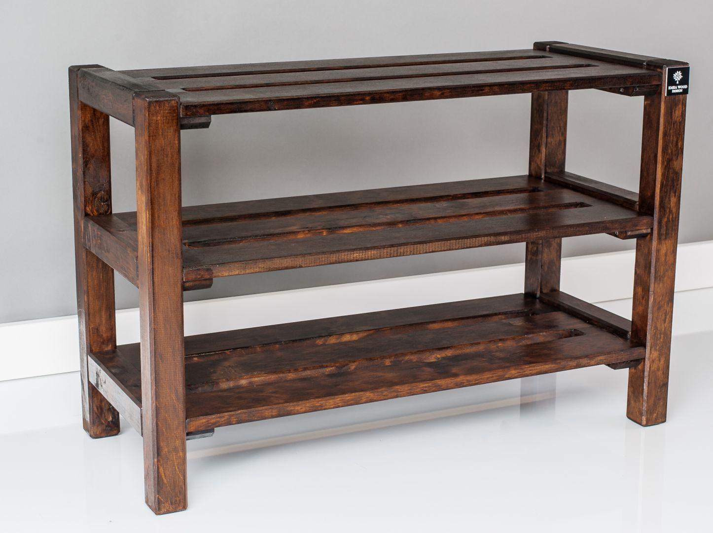 Rd 3g Regal Szafka Na Buty Orzech Drewno Lite Decor Cool Items Shelves