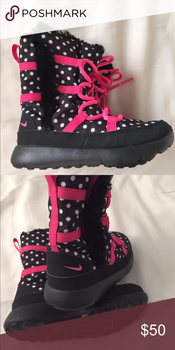 51798b2e2b Nike kids winter boots Size 10C. Perfect condition. Super cute for  daughter. Nike Shoes Winter   Rain Boots