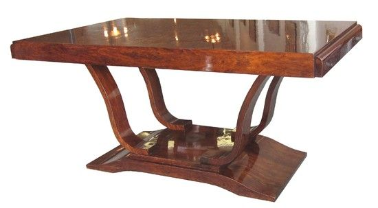 This French art deco dining table is from the 1930s Constructed – Art Dining Room Furniture