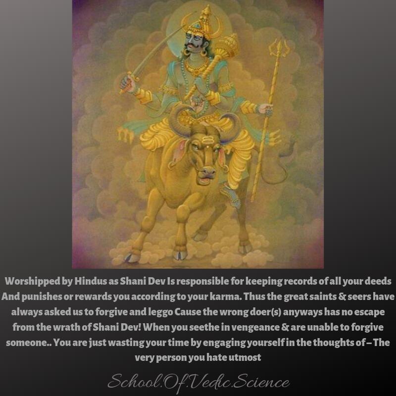 Shani Dev God Of Justice