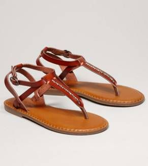 AEO Beaded T-Strap Sandal - Free Shipping