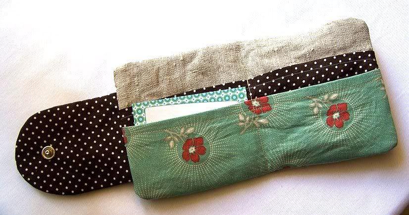 Kleinen Geldbeutel nähen   Nähen - Taschen & Geldbeutel   Pinterest ...