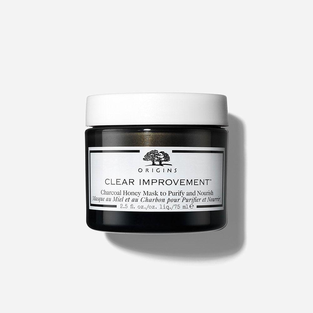 Clear improvement honey facial mask charcoal mask