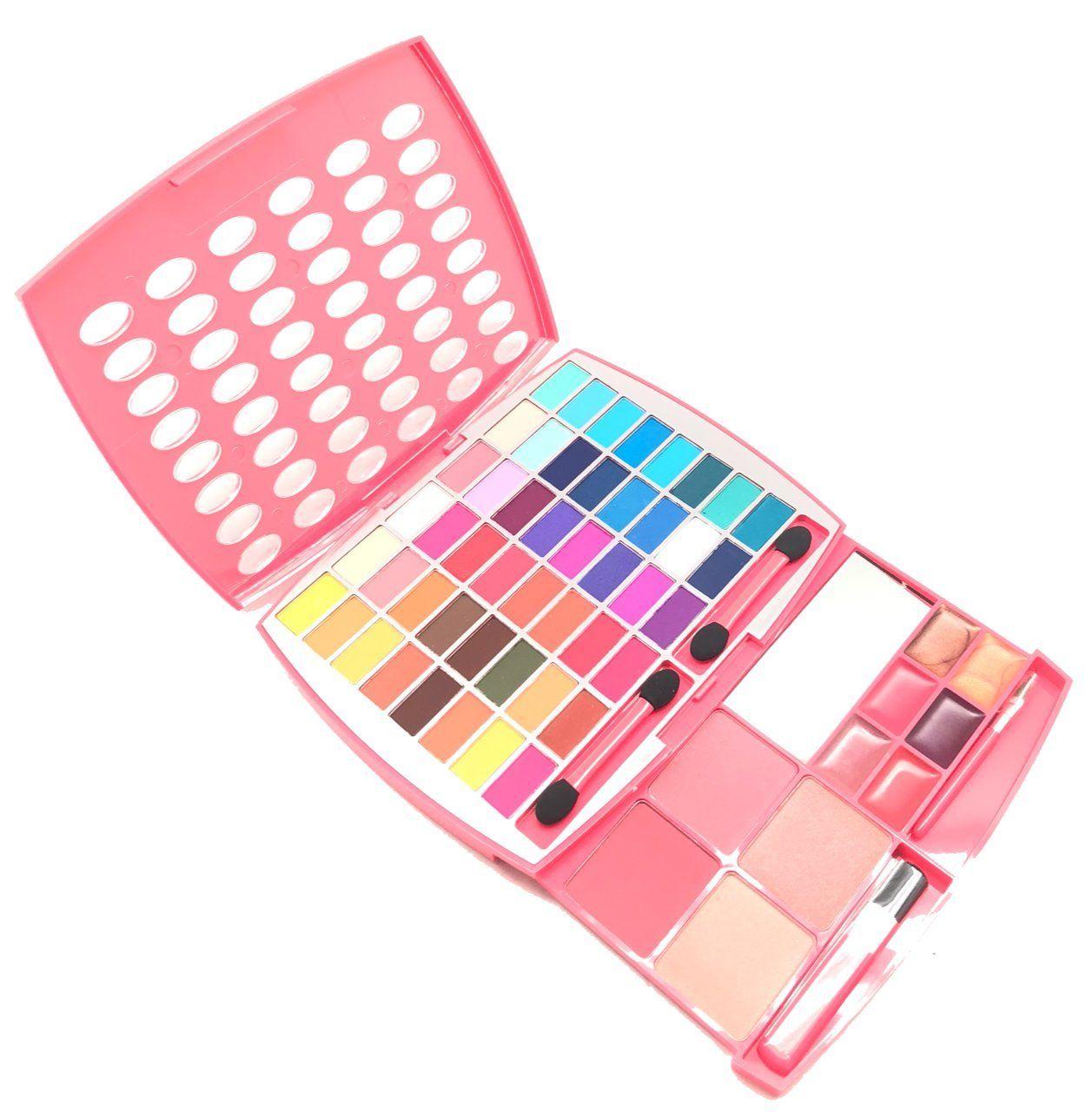 Br makeup kit glamur girl kit 48 eyeshadow 4 blush 6