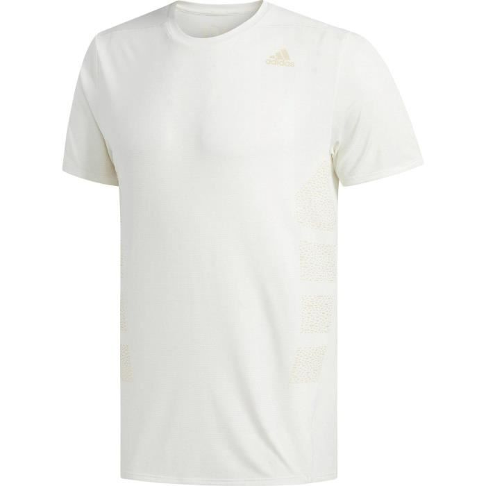 t shirt adidas homme blanc