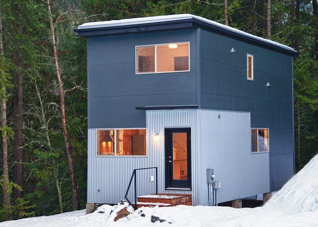 Two Bedroom Prefab Home, Ontario, Canada Prefab Modular