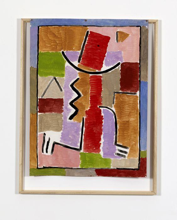 Gian Carozzi Senza titolo, 1968 gouache su cartoncino / gouache on paperboard cm 90x68