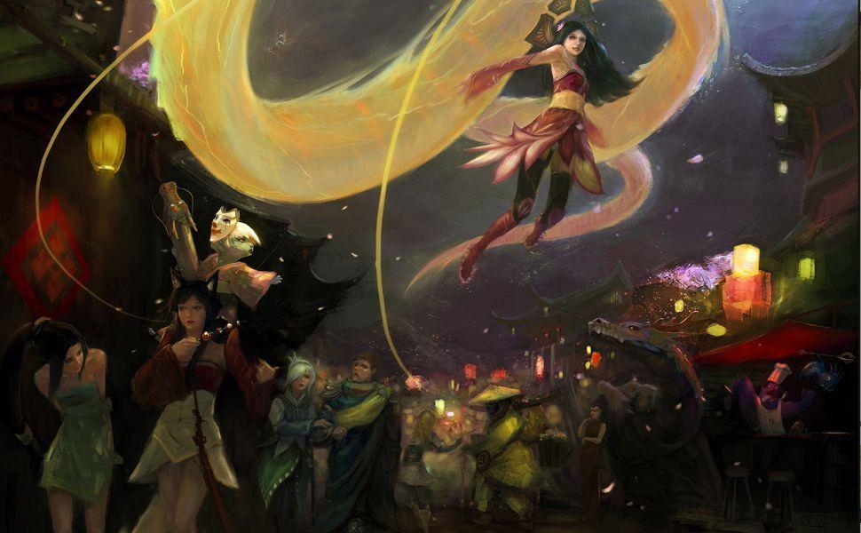 League Of Legends Anime HD Wallpaper