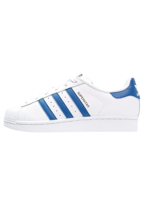 Basses Bleue Foundation Et Superstar Baskets Adidas Whiteblue qPnCE