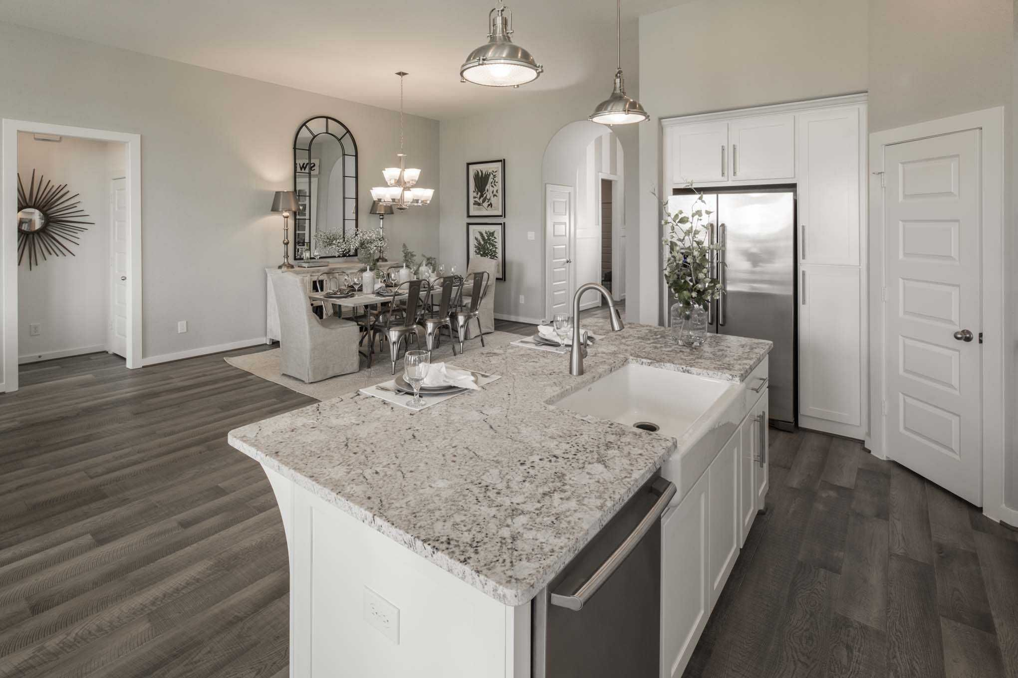 Kitchen Design Houston Extraordinary Highland Homes Plan 539 Model Home In Houston Texas Veranda 55S 2018
