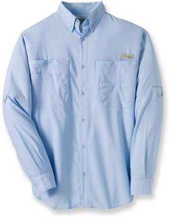 35b72289f96 Columbia Men's PFG Tamiami II Long-Sleeve Shirt Sail XXL   Products ...