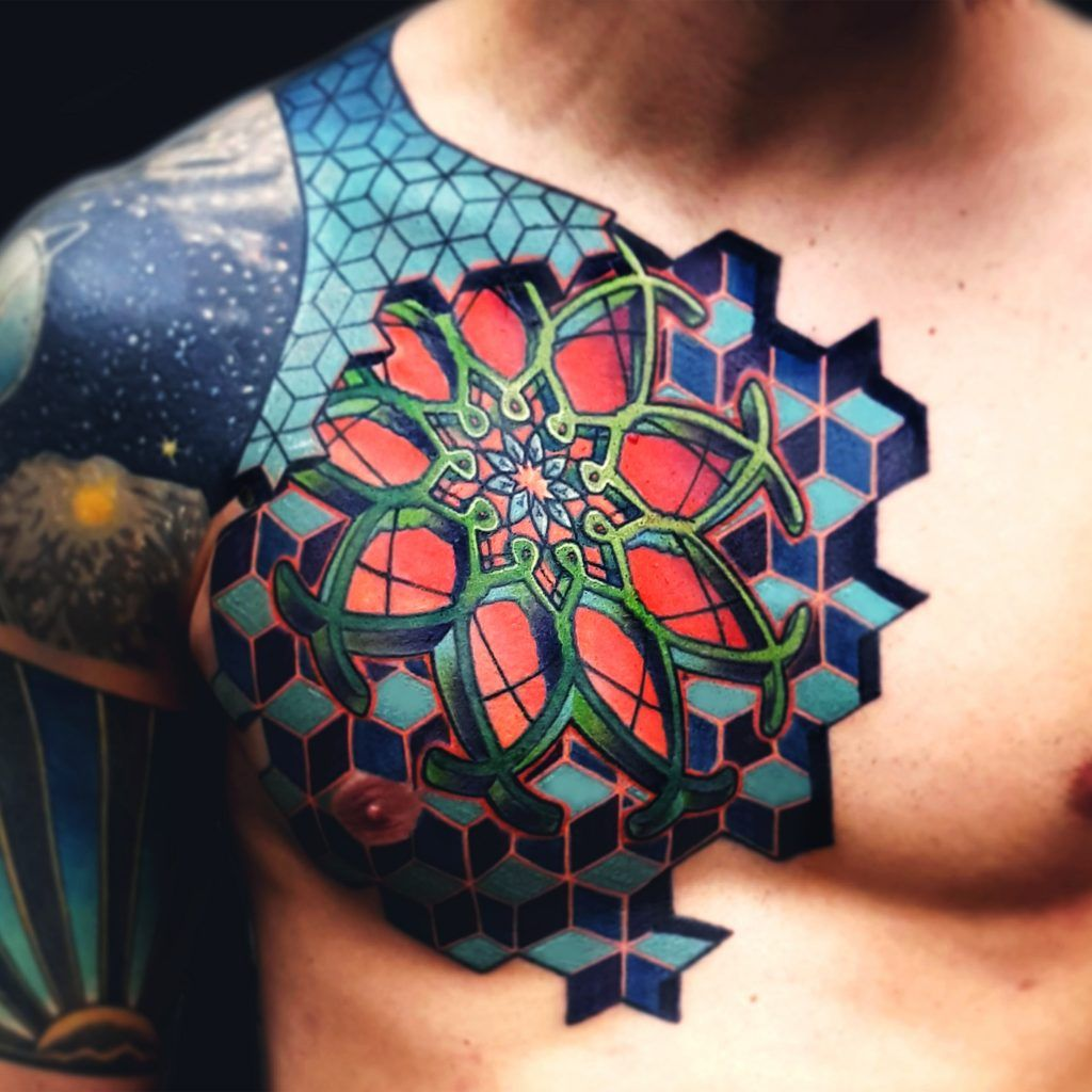 Oscar zornosa resident tattoo artist at stygian gallery