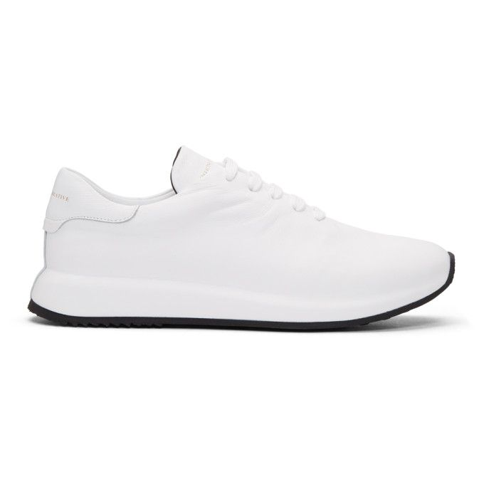 Officine Creative White Race 1 Sneakers 7ehpGTLA8R