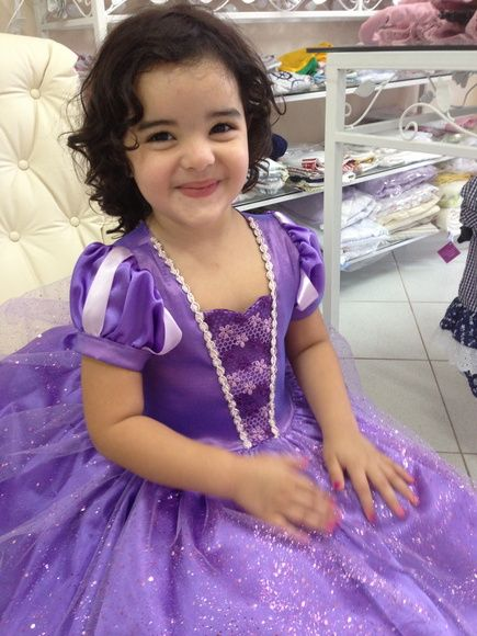 Vestido Princesinha Sofia Vestidoa Fiesta Sofia