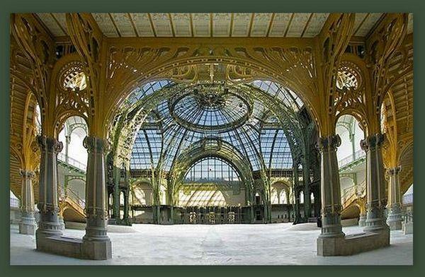 Grand Palais nef sous le balcon