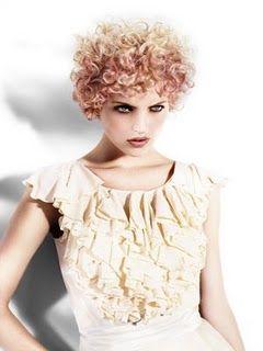 pink curls!!!