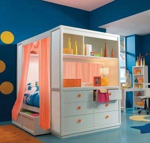 Teen Canopy Bed cool tween-teen bed | for kids, tweens, and teens | pinterest
