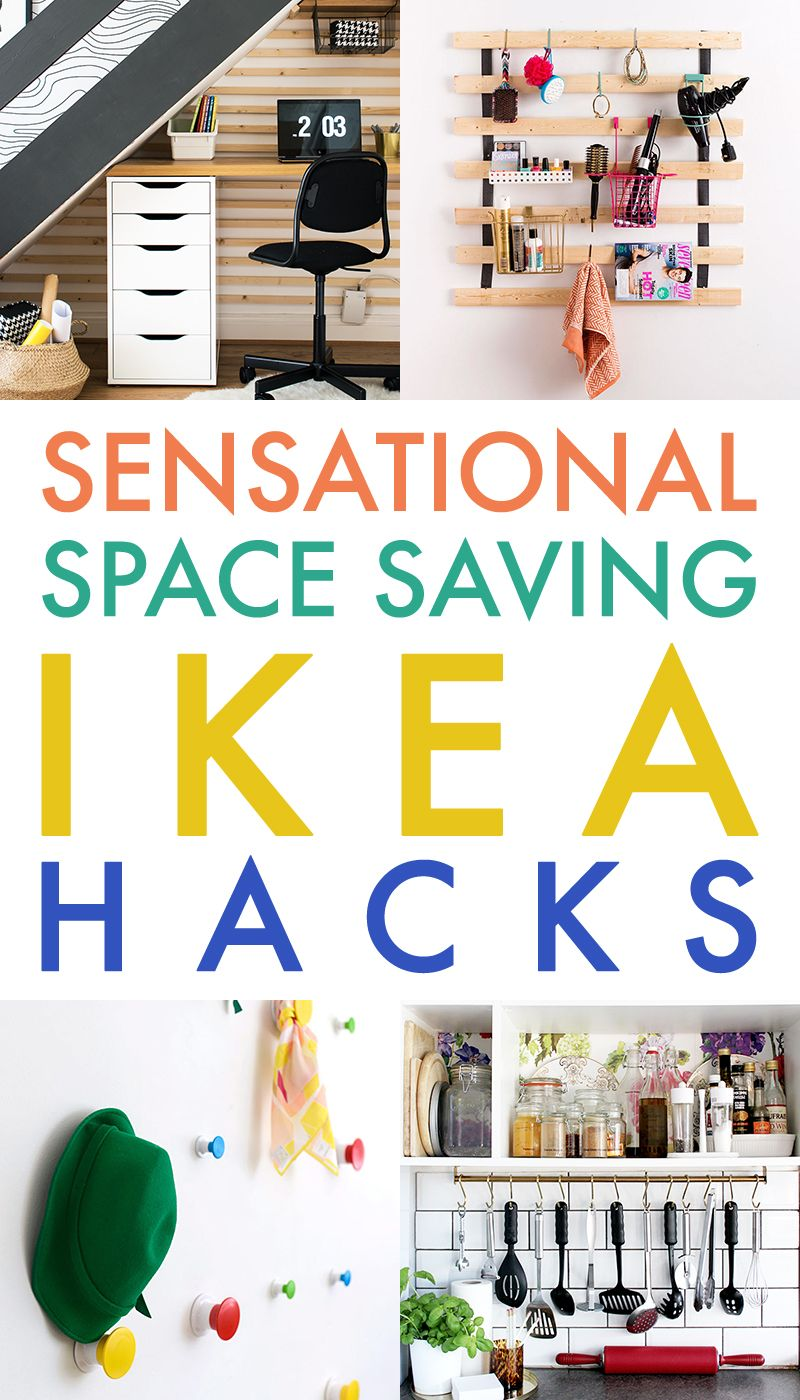 Ikea Küche Poster Sensational Space Saving Ikea Hacks Blogger Home Projects We