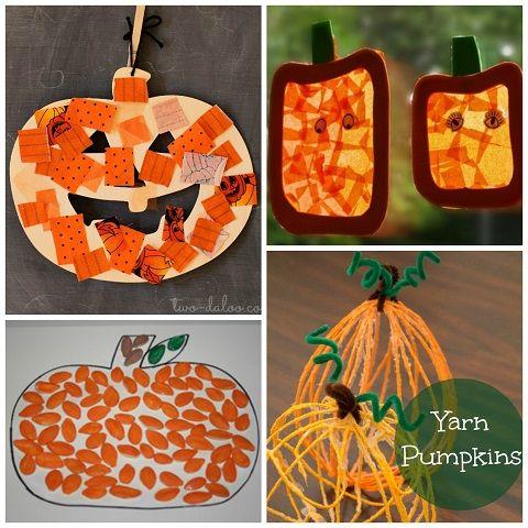 Easy Pumpkin Crafts For Kids To Make This Fall Crafty Morning Trabalhos Manuais Salas Manualidades