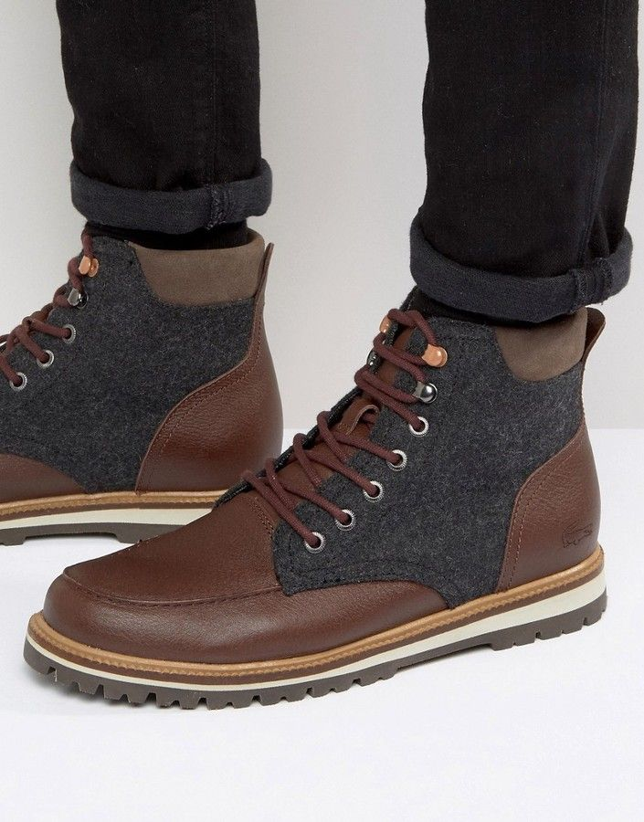 6bfd9f127 Lacoste Montbard Wool Boots