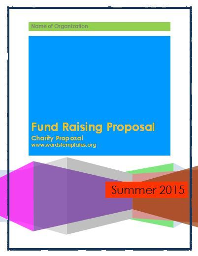 Fund Raising Proposal Template Stuff to Buy Pinterest - fundraising proposal template