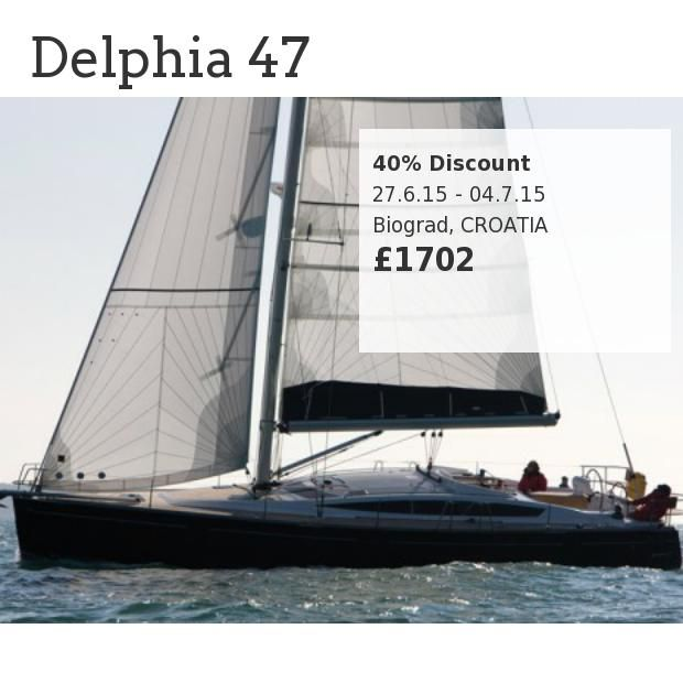 Delphia 47 - 40% Discount 27th June - 4th July // Biograd, CROATIA // Offer No:715 - made with simplebooklet.com